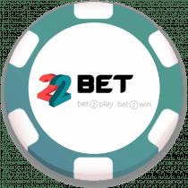 22 Bet Casino Bonus