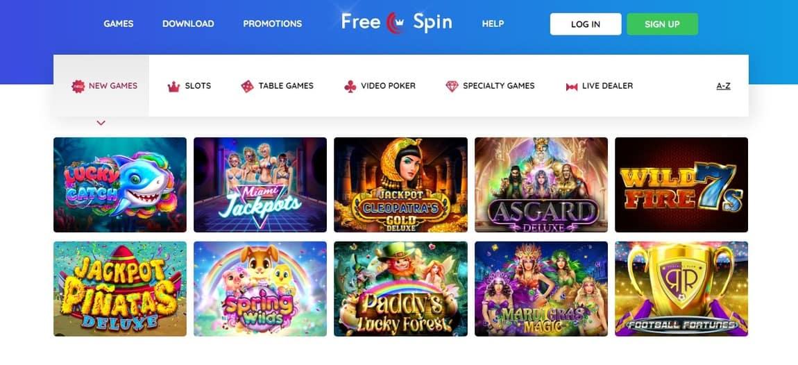 Freespin Casino Games