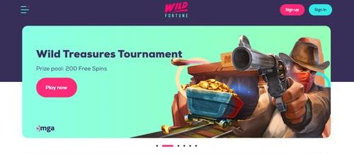 Online Casino Wild Fortune Tournament
