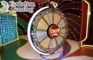 Evolution Gaming Casino Games