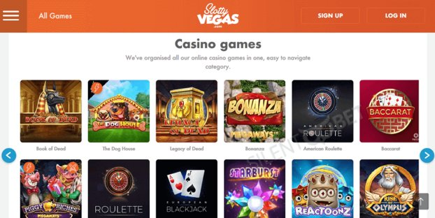 Slotty Vegas Casino Review