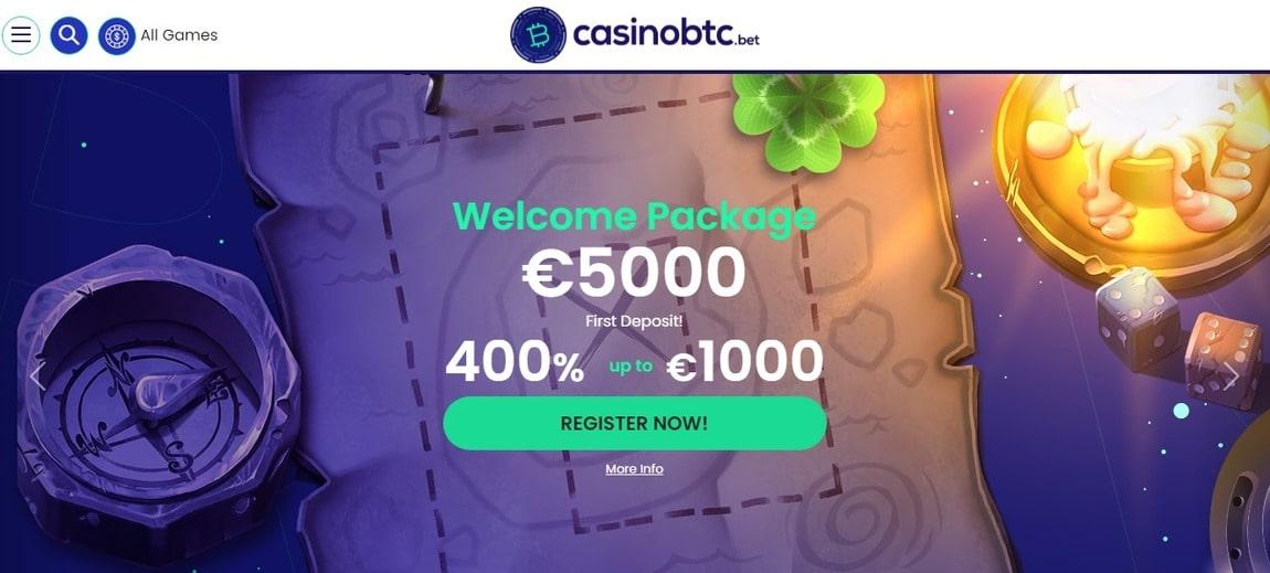 CasinoBTC Bonus