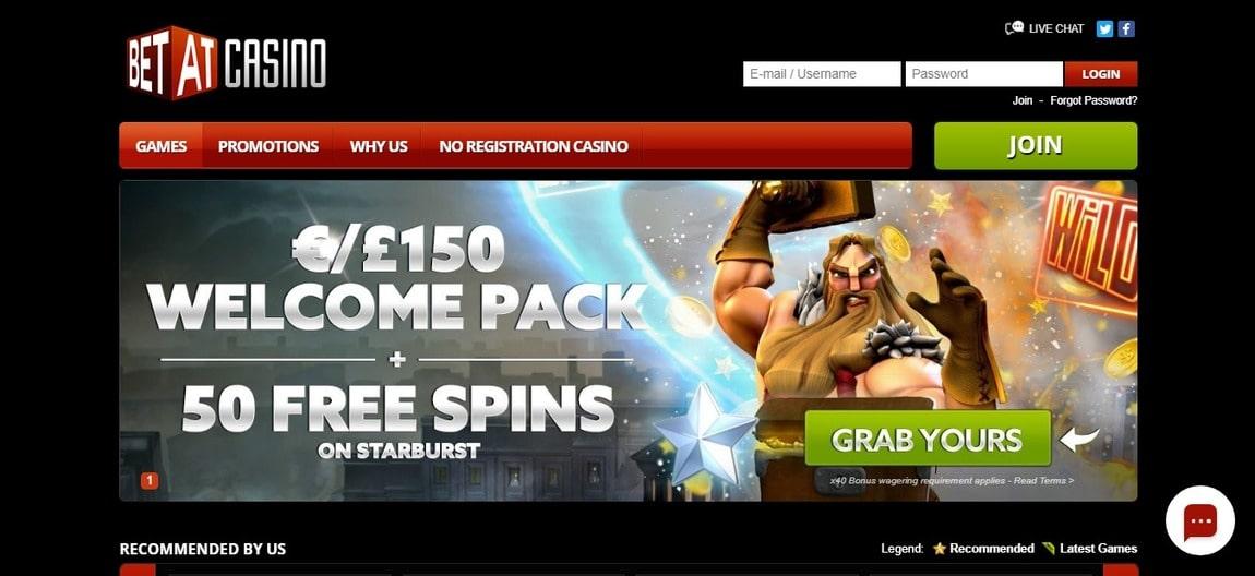 Betat Casino Bonus