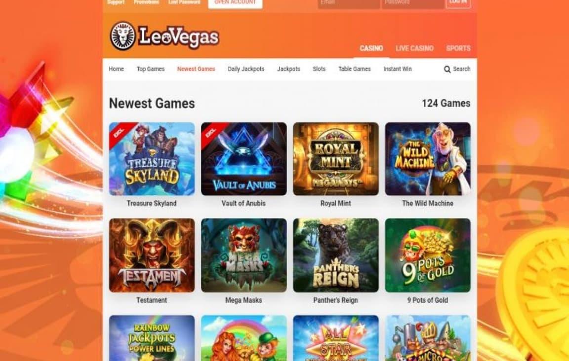 Leovegas Casino Slot Review